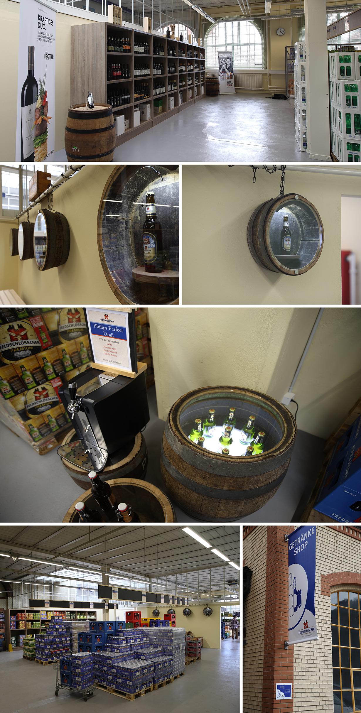 Feldschlösschen Getränkeshop
